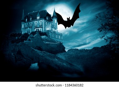 background and concept of halloween