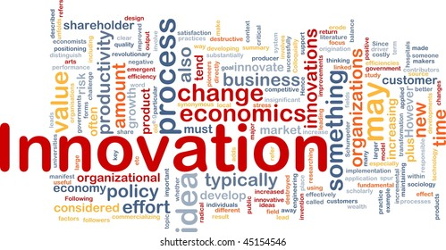 Background concept illustration of business innovation change