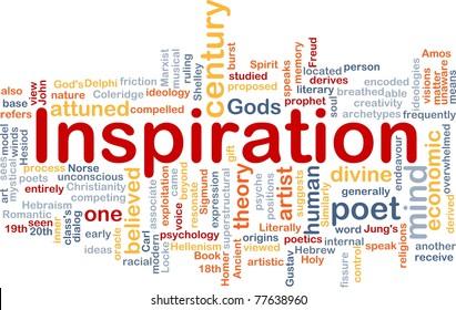 Background concept wordcloud illustration of humand mind inspiration