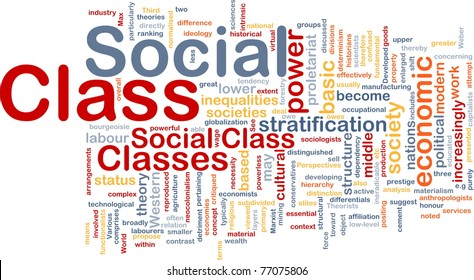 the concept of social class A classic definition of social inequality comes from the sociologist max weber,  who wrote that there are three fundamental types of inequality.