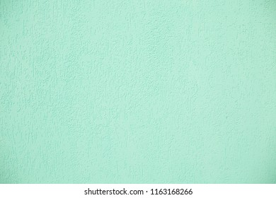background concrete rough green stucco texture