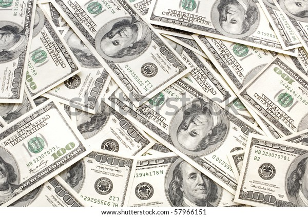 Background from considerable quantity of the scattered dollars
