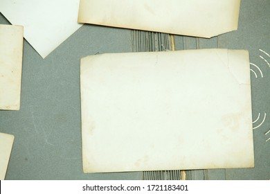 Background consisting of old, yellowed photographs.