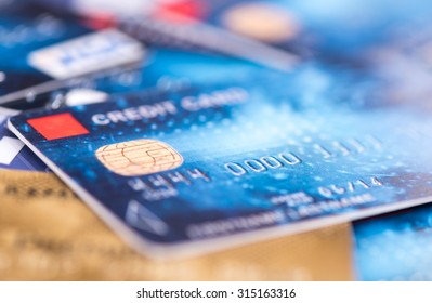 Background of credit cards