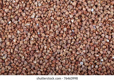 Background from croup of buckwheat