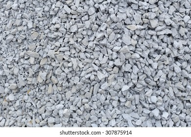 Background Crushed Granite gravel texture in buildind site