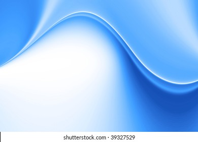 background curves blue