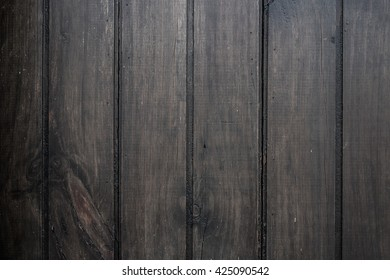 Background of dark brown wood texture