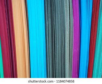 Background of dark colored cardstock.