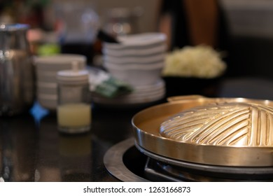 SHABU HOT POT THAI TOMYAM COCONUT SOUP ALUMINIUM DISH BOWL ASIAN COOKWARE PARTY