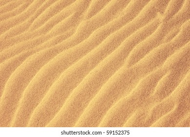 background of desert or beach sand with ripple patters