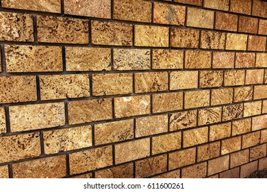 Background for design. Stone wall. Natural stone background of old stone for design of project as background. Artistic background wall from natural shellfish, stone from an underground quarry