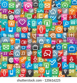 Background from a Different Apps Icons.