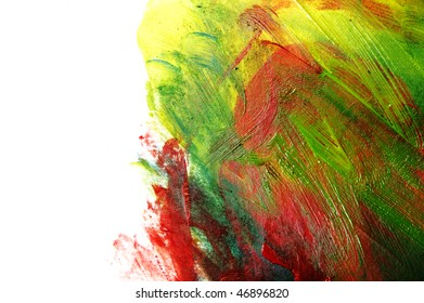 background of different colors on a white background