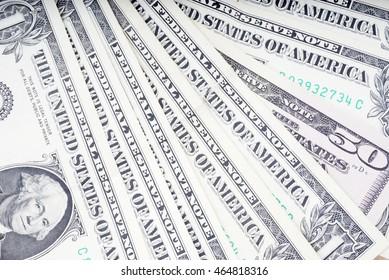 Background of dollar bills
