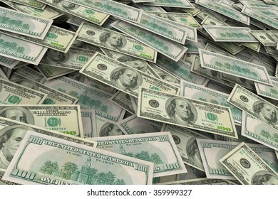 Background with dollars
