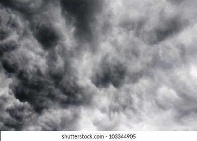 background with dramatic storm clouds texture
