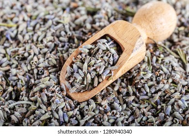 Background of dried lavender flowers.