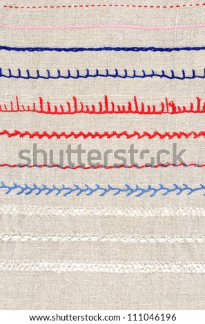 Background Embroidery Types Embroidery Stock Photo Edit Now