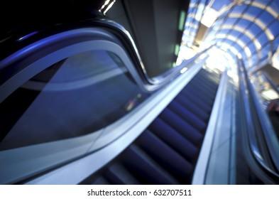 Background of escalator