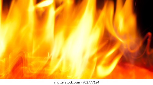 Background of fire