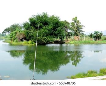Background of fishing