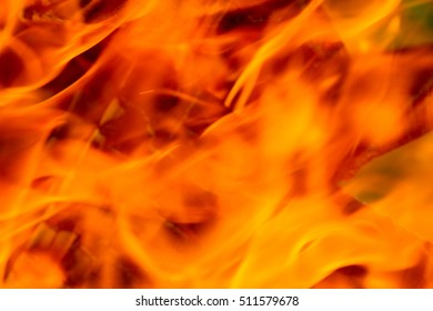 Background flame fire