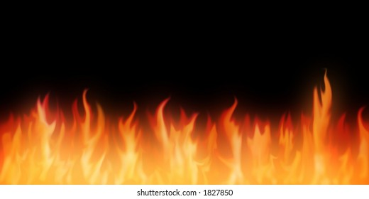 background with flames