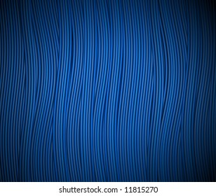 a background of flowing blue strands