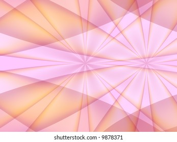 A background fractal in shades of pink,purple and orange. Very geometric.