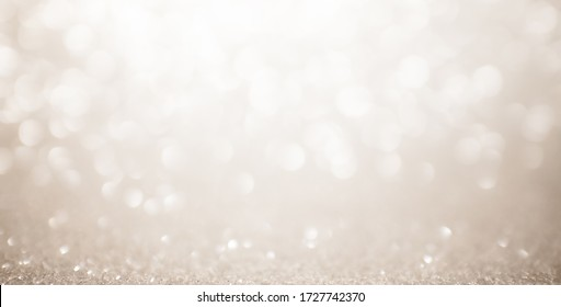 Background glitter christmas. White shine gold sparkle lights Christmas background christmas christmas - Shutterstock ID 1727742370