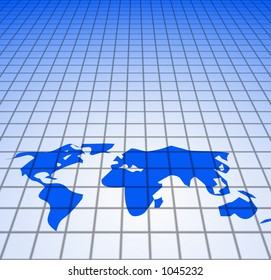 Background Global feel - technology, or business use. Use alone or text Overlay.