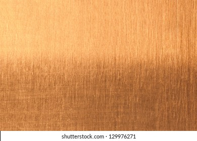 Background of golden metal surface