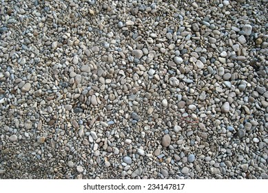 Background with gravel
