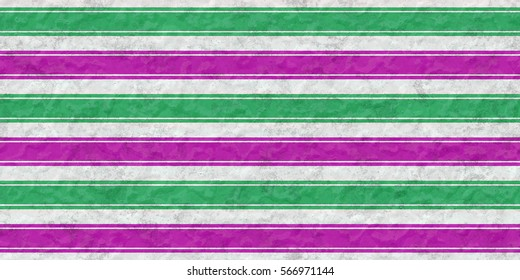 Background of green and purple stripes on the ceramic surface of the aged