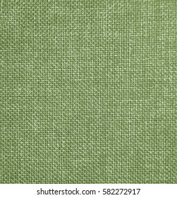 a Background of green textile texture. Macro