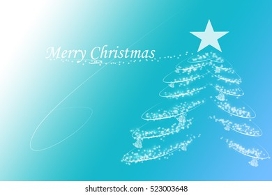 Background greeting Merry Christmas. A sweet color