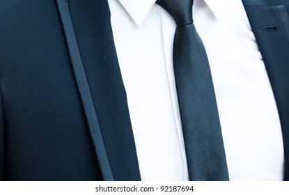 background of the groom suit and tie