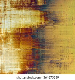 Background with grunge stains. With different color patterns: yellow (beige); brown; blue; white
