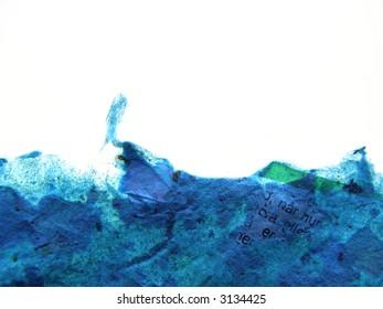 Background of handmade rough transparent paper