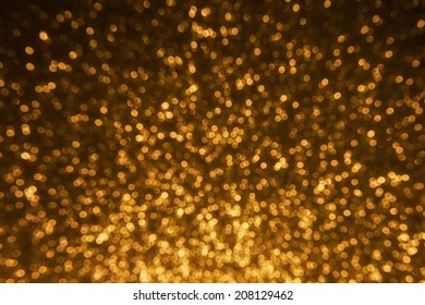 Background. Holiday Abstract Glitter Defocused Background With Blinking Stars. Blurred Bokeh