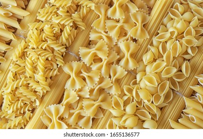 background of horns and spaghetti
