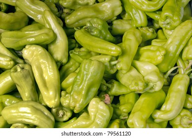 background of hot peppers