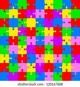 Background  Illustration jigsaw puzzle