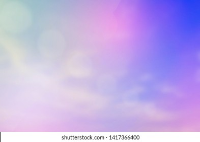 Background image, blurred sky, bright colors, strange colors Clouds and skies with a pastel background and sweet sky background wallpaper