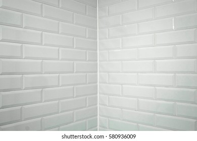 Background with the image of a brick wall corner