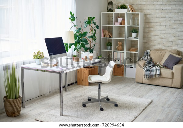 Background Image Empty Office Space Cozy Stock Photo Edit Now 720994654