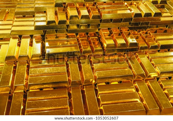 Background image of gold bars