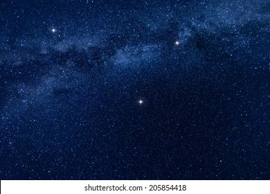A background image of the milky way stars