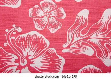 A background image of an orange hawaiian shirt.